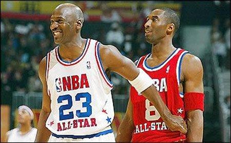 Michael Jordan vs. Kobe Bryant.