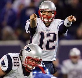 NEW ENGLAND PATRIOTS V NEW YORK GIANTS