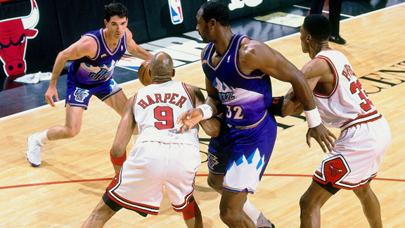 457b43124 Dynamic and skilled beyond most duos you ll ever see. Karl Malone is one of  the best scoring power-forwards to ever hit the hardwood
