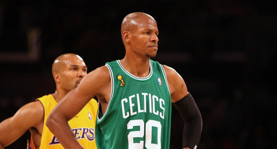 Ray Allen Calls Out David West For Choosing The Indiana Pacers