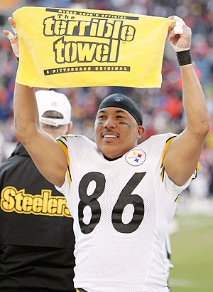 Former Steelers WR Hines Ward says the team is in disarray. (AP Photo)