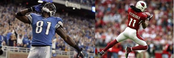 Larry Fitzgerald vs. Calvin Johnson