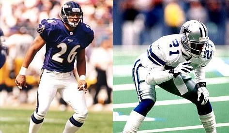Rod Woodson vs. Deion Sanders