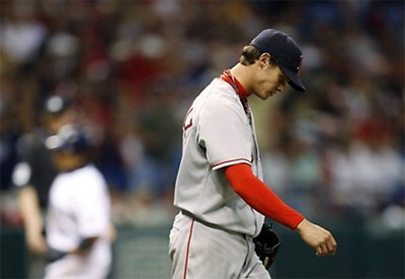 Red Sox Pitcher, Clay Buchholz, Sidelined with Intestinal Bleeding