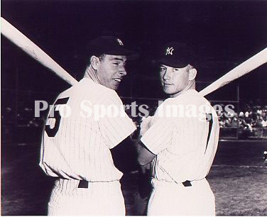 31751be5f27 Joe DiMaggio vs. Mickey Mantle