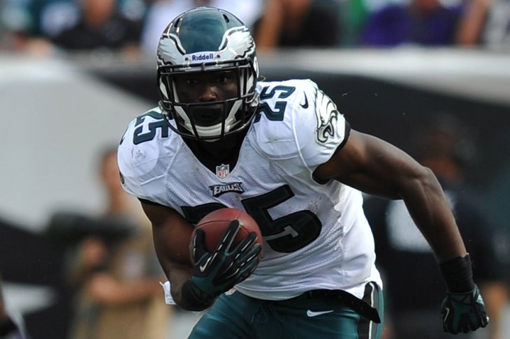 Philadelphia Eagles running back LeSean McCoy is being sued after allegedly assaulting a woman on a party bus trip from Philadelphia to New Yor City in December 2012 (Credit: Jeffrey G. Pittenger-US PRESSWIRE - Presswire)