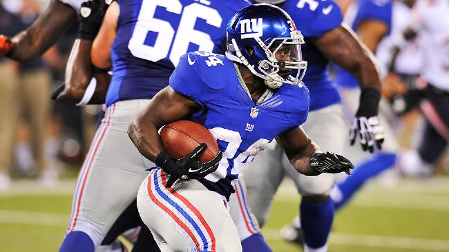 In a not-so-shocking move, David Wilson has been named the Giants starting running back (Credit: AP Photo)