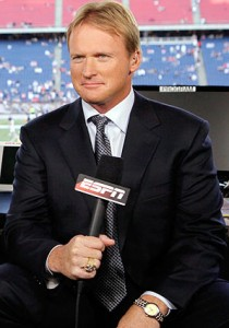 Could Jon Gruden land in Big-D? (Credit: AP Photo)