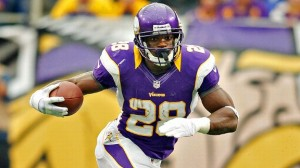 Adrian Peterson says he has the Comeback Player of the Year award in the bag (Bruce Kluchkhohn/US Presswire)