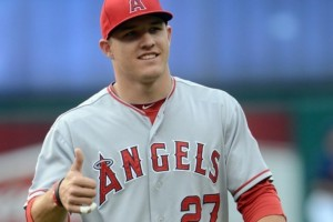 Mike Trout dominated in his rookie year winning both Rookie of the Year and the MLB's Player of the Year. (Eric P. Mull-US PRESSWIRE)