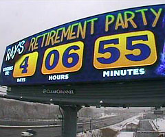 Ray Lewis retirement billboard