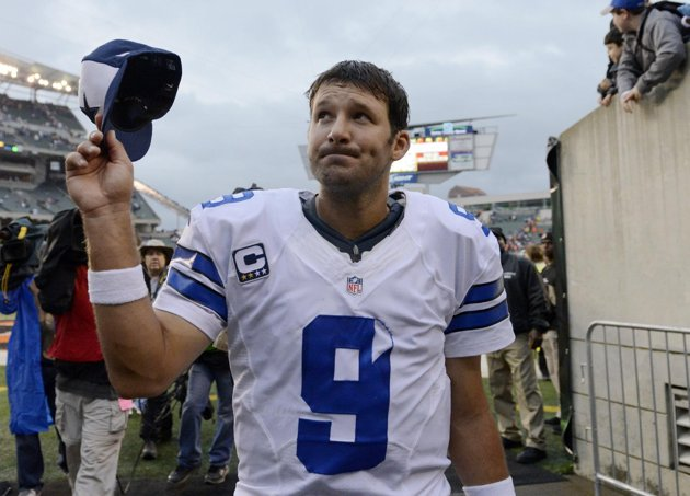 Despite the increased media attention following his six year, $108 million contract extension, Tony Romo says the media doesn't matter to the Cowboys (Credit: AP Photo)