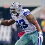 Linebacker Anthony Spencer has likely played his way out of Dallas. (AP)