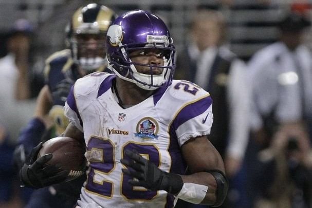 Adrian Peterson certainly was the MVP for his fantasy owners: Most Valuable Pick. (Associated Press/Seth Perlman)