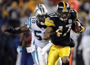 Could Mike Wallace join the Carolina Panthers? (Credit: AP Photo/Don Wright)