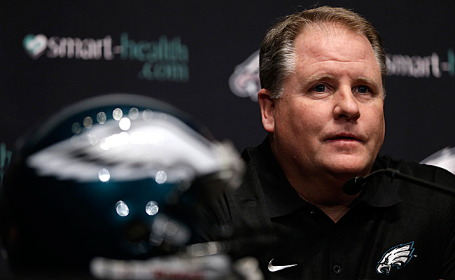 Chip Kelly has hired 22 new coaches during his short tenure with the Eagles, but one is a little different than the others. (Matt Rourke/AP)