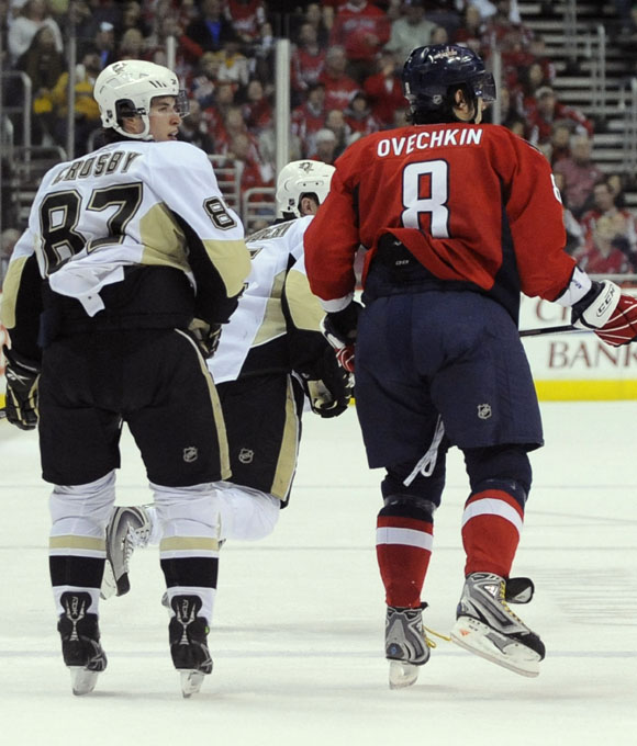 Capitals vs Penguins, not what it used to be.