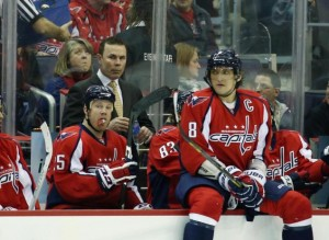 ovechkin on bench