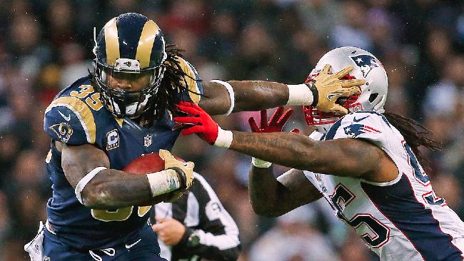 Steven Jackson has been one of the most dominant and consistent backs of the 21st century, but is his run over after nine years? (AP Photo)