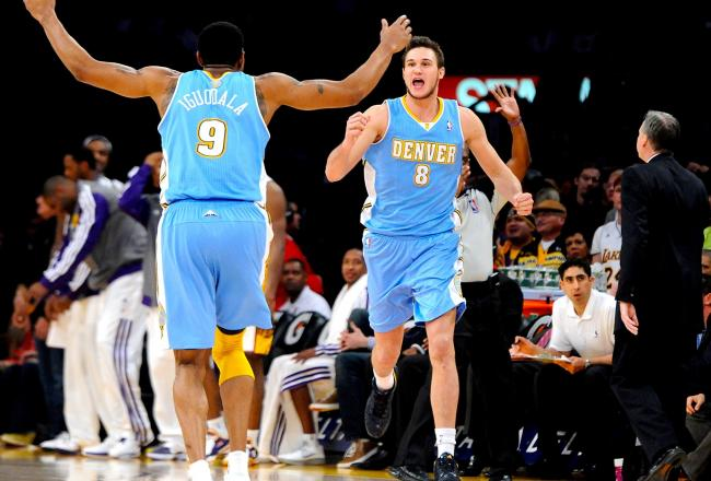 Will the Nuggets be celebrating in the playoffs?