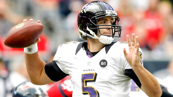 Joe Flacco believes the Ravens have a lot more wins and he has a lot more money in the future (Credit: AP Photo)