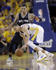 Stephen Curry, Danny Green