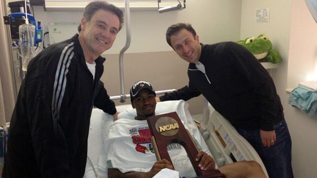 Louisville guard Kevin Ware receiving tons of gifts from supporting fans; cannot accept dog toys per NCAA rules