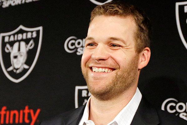 Today, Oakland Raiders head coach Dennis Allen told the media Matt Flynn is still the team's starting quarterback (Credit: AP Photo)