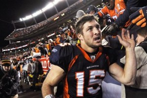 Does Chuck Norris's praise change your opinion of Tim Tebow? (Photo credit: AP Photos)