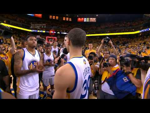 Warriors&#8217; players give fans an encore after loss