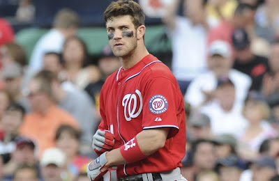 Bryce Harper is emerging as Nationals leader in the clubhouse Credit: US Presswire