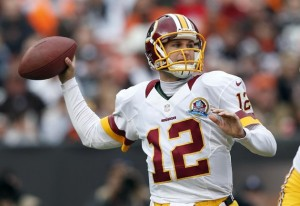 With Robert Griffin III looking strong and his return to the starting QB position looking imminent, what's next for Kirk Cousins?