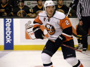 Mark Streit is the latest addition to a Flyers blueline that has searched for answers since Chris Pronger left. Image Credit: Dan Nicholas