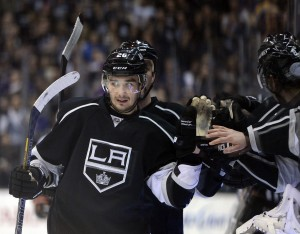 Slava Voynov can celebrate a new deal that makes him $25 million richer. Image Credit: Harry How, Getty Images