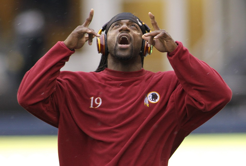 Washington Redskins wide receiver, Donte Stallworth, says he was aggressively homophobic in the past (Credit: USA Today)