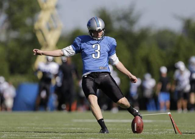 According to the Detroit Free Press, Lions Norwegian Kicker Havard Rugland learned English using Wu-Tang Clan (Credit: BattleCreekEnquirer)