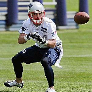 Can Ammendola stay healthy and replace Welker in New England? AP Photo/Charles Krupa
