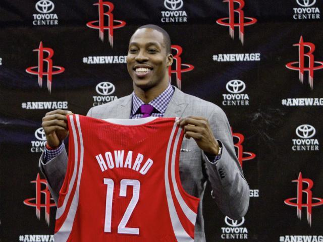 Dwight Howard open to playing power forward?