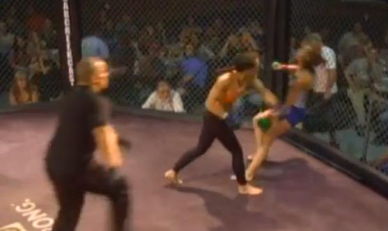 Watch: Brutal Knockout in Female MMA Fight
