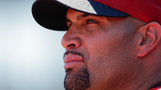 Pujols thinks thinks will be looking up next year (Credit: AP)