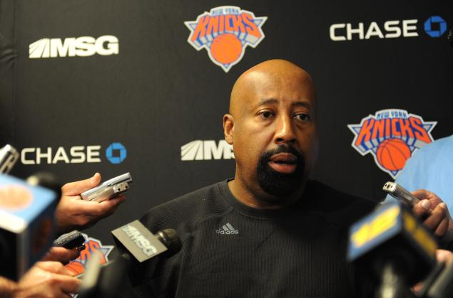 Knicks' starting lineup still being determined?