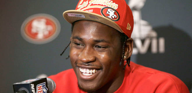 Today, NBC Bay Area is reporting that 49ers linebacker Aldon Smith has been named in a lawsuit from a party he threw in 2012 (Credit: FoxSports)