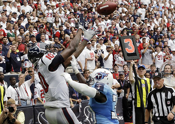 DeAndre Hopkins thinks he can be better than Andre Johnson
