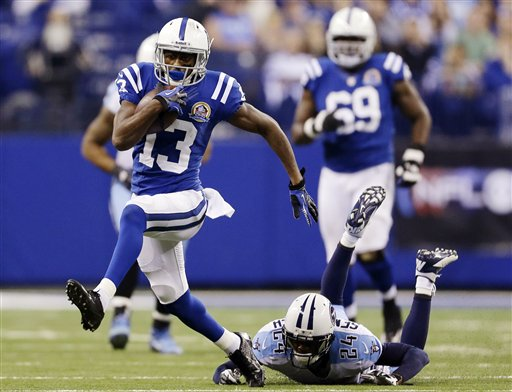 You wouldn't like T.Y. Hilton when he is angry (Credit: AP Photo)