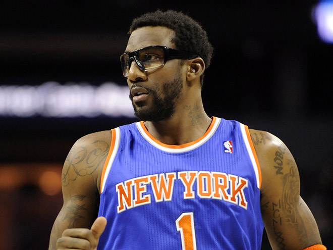 WATCH: Amar'e Stoudemire has embarrassing defensive sequence