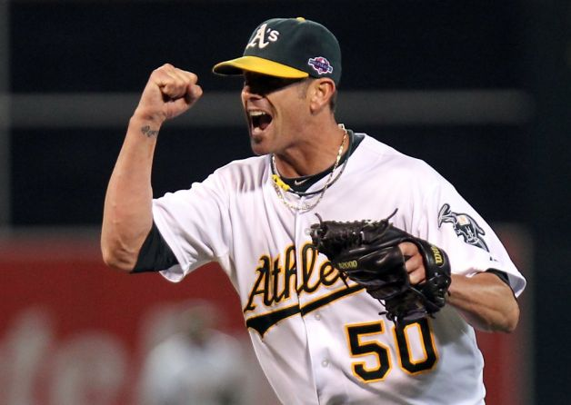 Grant Balfour will be moving to the East Coast in 2013  (Credit: USA Today Sports)