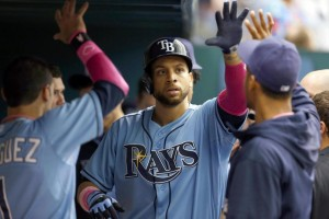 Loney is back in Tampa an solidifies a competitive lineup (Credit: AP/Mike Carlson)