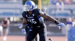 Mack plays for a small school but should not be underestimated. (AP Photo/ Mike Groll)