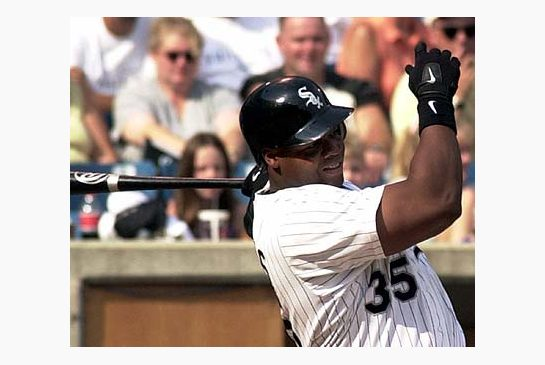 Nobody on the blog penalized Frank Thomas for being a DH Credit: AP