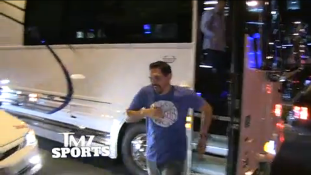 Cowboys/Lions Conspiracy? Head Of Officiating Was Seen On Cowboys Party Bus